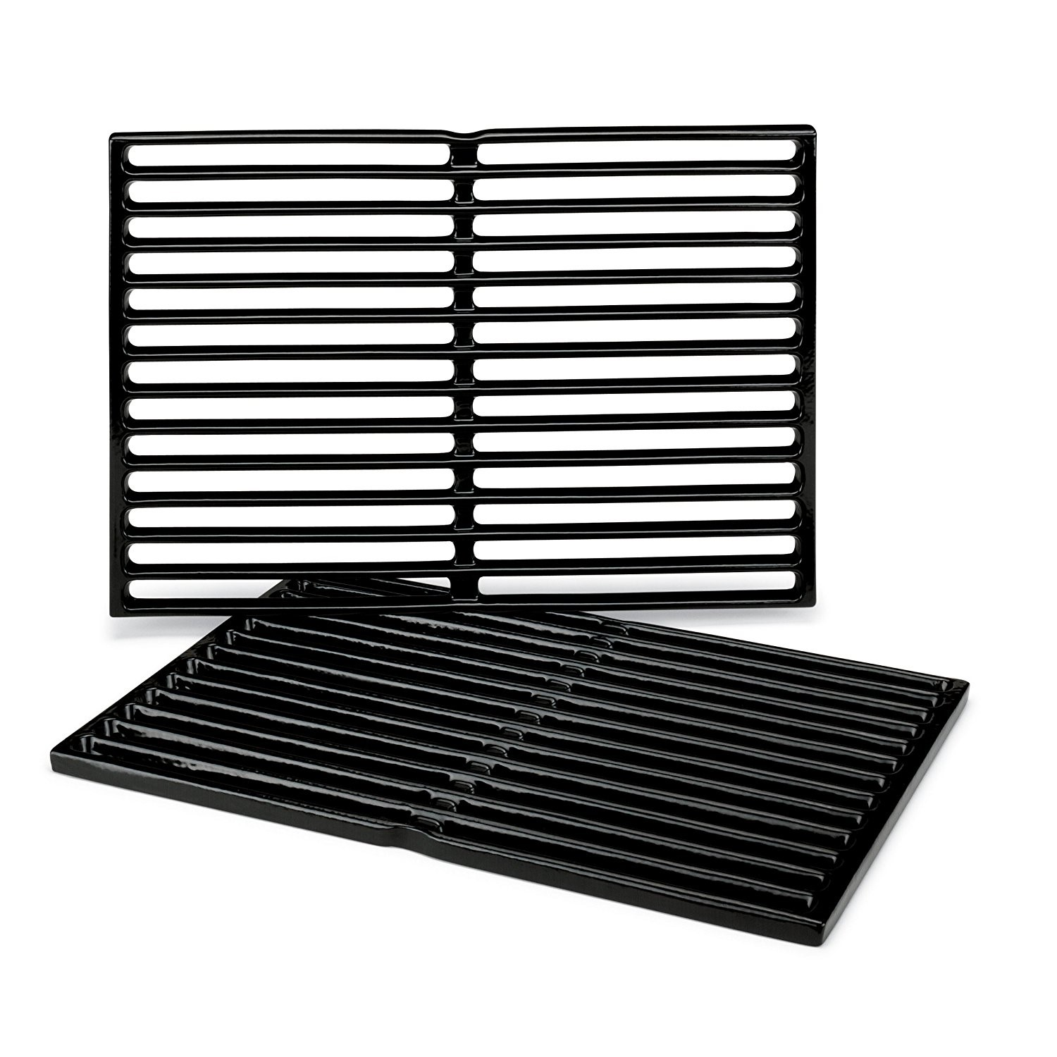 PORCELAIN-ENAMELED CAST-IRON COOKING GRATES: SPIRIT 200 (W/ SIDE MOUNTED CONTROL PANEL), SPIRIT 500 AND GENESIS SILVER A