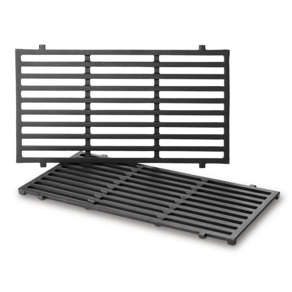 PORCELAIN-ENAMELED CAST IRON COOKING GRATES: SPIRIT® 200 (FRONT-MOUNTED CONTROLS)