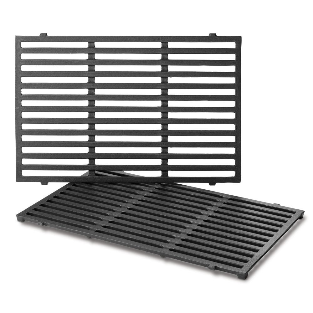 PORCELAIN-ENAMELED CAST-IRON COOKING GRATES: SPIRIT 300 SERIES