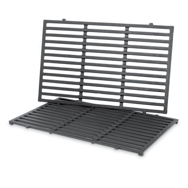 PORCELAIN-ENAMELED CAST-IRON COOKING GRATES: GENESIS 300 SERIES