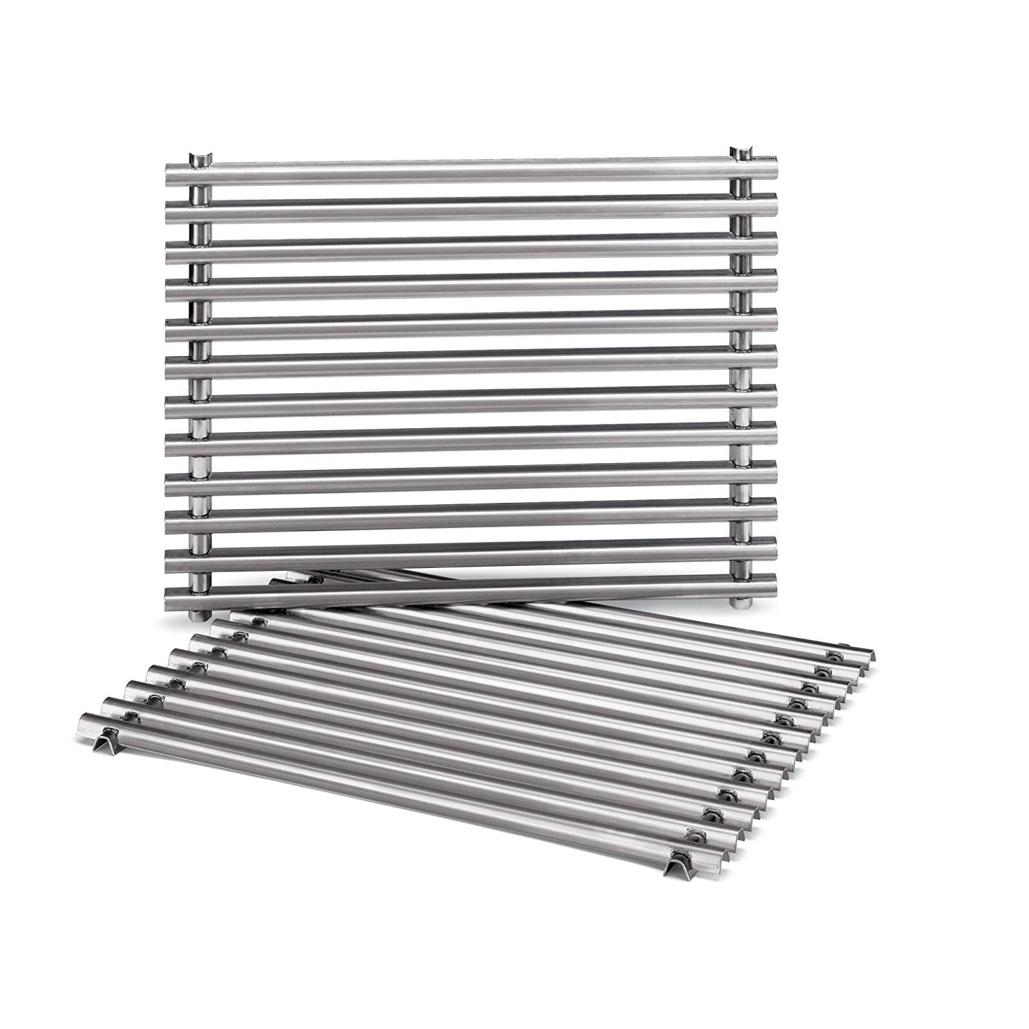 STAINLESS STEEL COOKING GRATES: SPIRIT 200 (W/ SIDE MOUNTED CONTROL PANEL), SPIRIT 500 AND GENESIS SILVER A