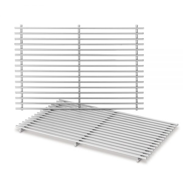 STAINLESS STEEL COOKING GRATES: SPIRIT 300 SERIES(FRONT-MOUNTED CONTROLS)