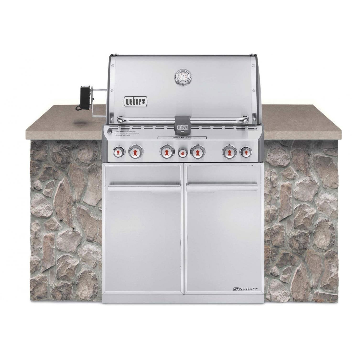 SUMMIT S-460 BUILT-IN GRILL
