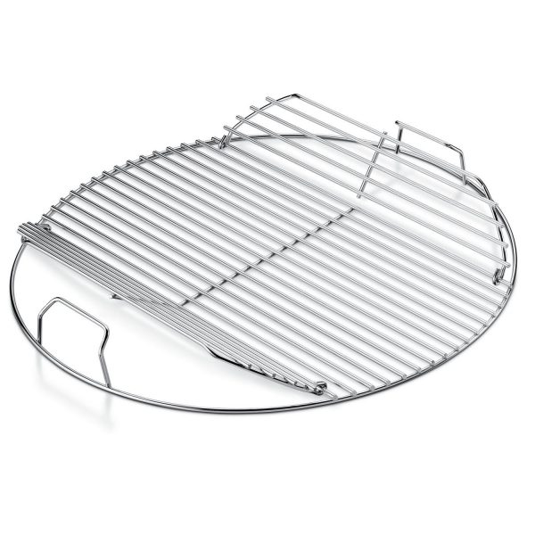 "WEBER ORIGINAL GOURMET BBQ SYSTEM, 22.5"" CHARCOAL HINGED COOKING GRATE"
