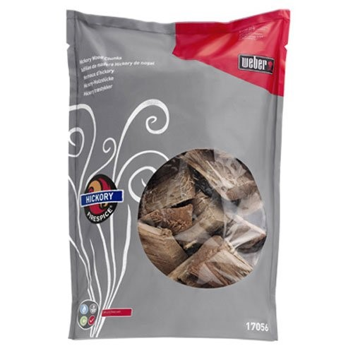 FIRESPICE HICKORY WOOD CHUNKS (5-POUND BAG)