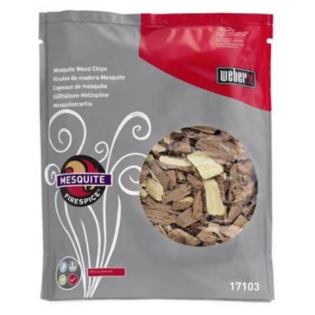 FIRESPICE MESQUITE WOOD CHIPS (3-POUND BAG)