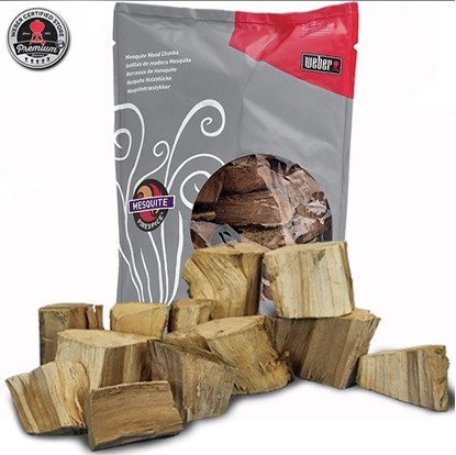 FIRESPICE MESQUITE WOOD CHUNKS (5-POUND BAG)