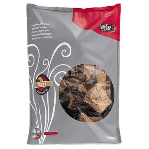 FIRESPICE PECAN WOOD CHUNKS (5-POUND BAG)